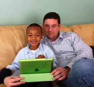 Nate and Uncle Jordan (Feb 2013)
