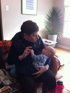 Katie Meeting Lev