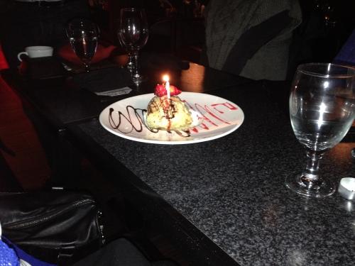 Tammy's Birthday Dessert (Jan 2015)