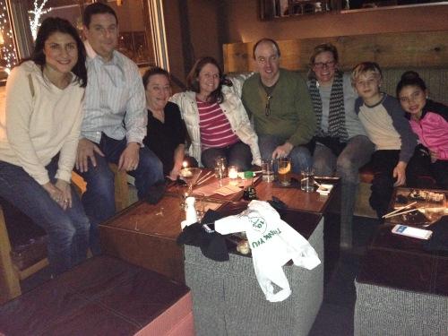 Celebrating Tammy's Birthday - Shana, Jordan, Tammy, Jodi, Ashby, Tanya, Jack, Francessia