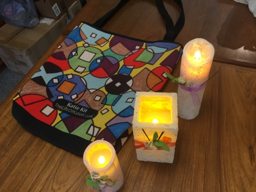 Katie Kit LED Candles by Brenda McDonald-Cunningham